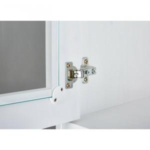 Dulap de bucatarie Finley, lemn, alb, 191 x 90 x 45 cm