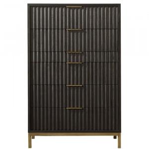 Dulap Holford, Negru, 142,24 x 91,44 x 45,72 cm