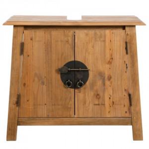 Dulap pentru chiuveta din lemn masiv, 70 x 32 x 63cm