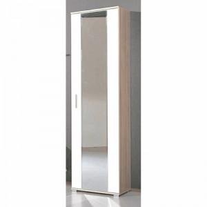Dulap pentru dormitor, alb/bej, 200 x 55 x 34 cm