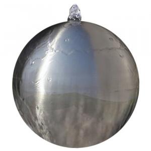 Fantana decorativa, iluminata, LED, 30 x 30 x 30 cm