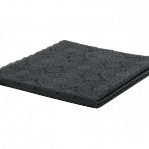 Față de masă Crochet, negru, 150x264cm