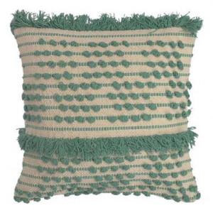 Față de pernă decorativă Aruba verde / bej, 45x45cm