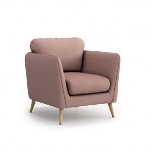 Fotoliu Agustin, roz, 89 x 90 x 88 cm