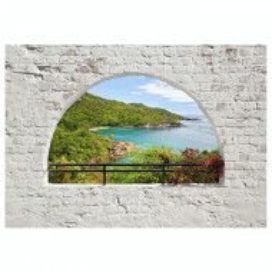 Fototapet Emerald Island Premium Vlies - 150 x 105 cm