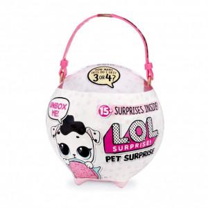 Jucarie Mega Ball LOL Pet Surprise, include 15 surprize, modele diferite