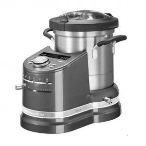 KitchenAid Artisan 5KCF0103BMS/1 Robot de bucatarie, argintiu