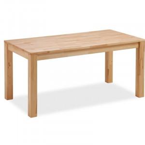 Masa Varak, lemn masiv, maro, 140 x 80 x 76 cm