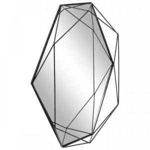 Oglindă de perete cu cadru metalic Prisma