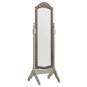 Oglinda Joutel, lemn, alb/maro, 160 x 51 x 50 cm