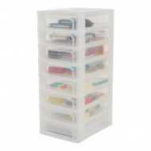 Organizator, plastic, alb, 65,5 x 26 x 35,5 cm