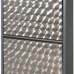 Pantofar metalic Cabinet 70, aluminiu