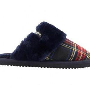 Papuci de casa Slip Check blu scuro, 41