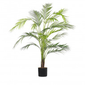 Planta artificiala ARECA PALM, material sintetic, verde, 124 x 12 cm