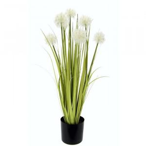 Planta artificiala, verde/negru, 68 x 14 x 14 cm
