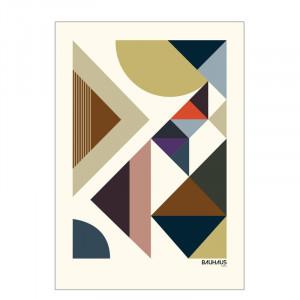 Poster 'Bauhaus' by Livston Copenhagen, 70 x 50 cm