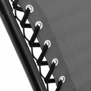 Scaun Brea Folding Zero Gravity, gri
