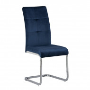 Scaun tapitat Suri, albastru