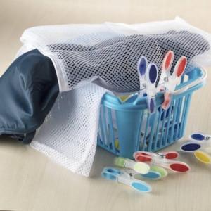 Set 20 cârlige pentru haine Karll din plastic, culori asortate