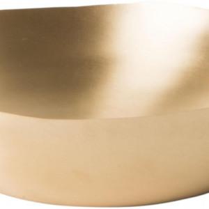 Set de 2 boluri Nature, aurii, 29-24 cm