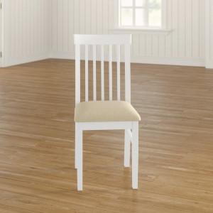 Set de 2 scaune Bayou din lemn masiv, 94 x 25 cm