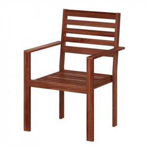 Set de 2 scaune din lemn masiv Mimo