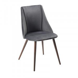 Set de 2 scaune Falmouth, gri, 83 x 45 cm