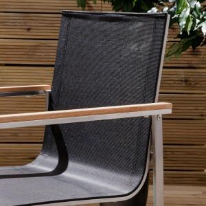Set de 6 scaune Teakline textil