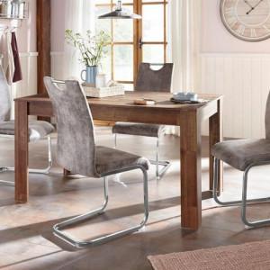 Set de living Home Affaire, masa + 4 scaune