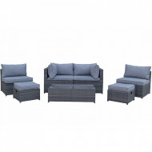 Set de mobilier pentru gradina Chelsea, ratan