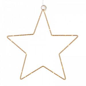 Stea decorativă Karll, 45 LED, auriu, 62 cm diametru