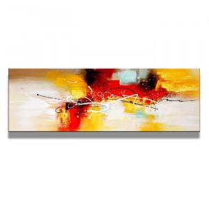 """Tablou """"Abstract"""", multicolor, 40 x 120 cm"""