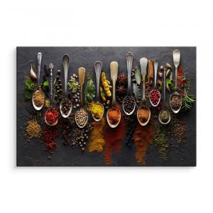 """Tablou """"Condimente"""", multicolor, 70 x 100 cm"""
