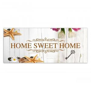 "Tablou ""Home Sweet Home"", 140 x 45 cm"