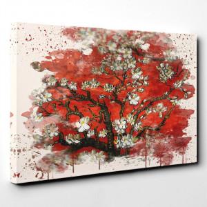 Tablou canvas Almond Blossom Tree Vincent van Gogh , 70 x 100 cm