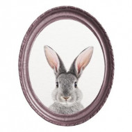 Tablou Purple Rabbit