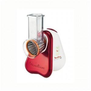 Tocator Moulinex DJ755G, alb/rosu, 24,6 x 24,5 x 19,5 cm