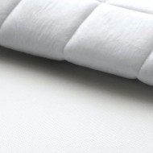Topper tesatura/spuma rece, alb, 200 x 200cm