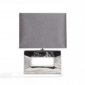 Veioza moderna argintie - Onyx