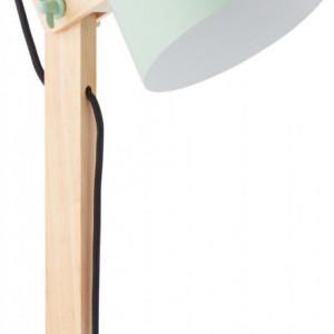Veioza pivotanta, maro/verde, 16 x 52 x 22 cm, 30w