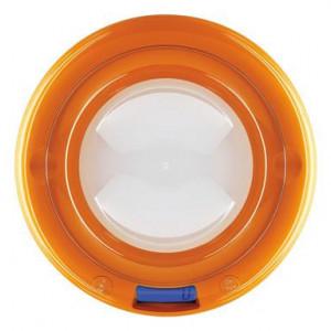 Cantar digital de bucatarie Bubble, portocaliu