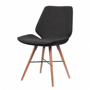 Set de 2 scaune Tove, Gri Antracit