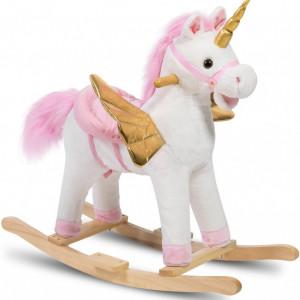 Balansoar unicorn pentru fete
