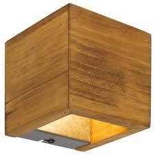 Aplica Brad I, LED, maro, 11 x 11 x 11 cm, 43w