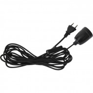 Cablu Gilbertown, negru, 6 x 500 x 5 cm