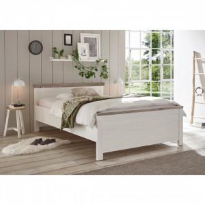 Cadru de pat Caroline, lemn masiv, 155 x 208 x 86 cm