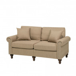 Canapea de 2 locuri OTRA, tapiterie bej