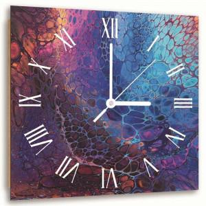 Ceas Adama din lemn masiv, 80 x 80 cm