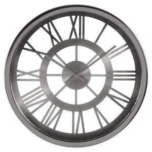 Ceas Tynan din sticla, argintiu, 35 cm