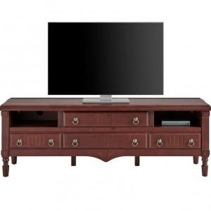 Comoda TV Leonique, lemn de cires, 180 x 60 x 50 cm